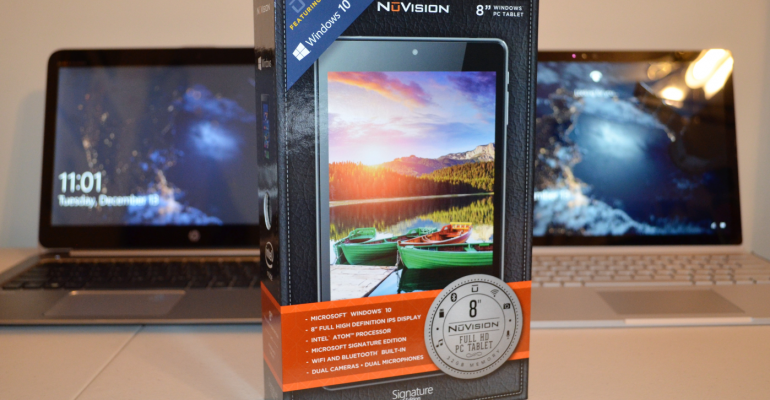 Update: Two Weeks with the Nuvision TM800W610L 8-Inch Windows 10 Tablet