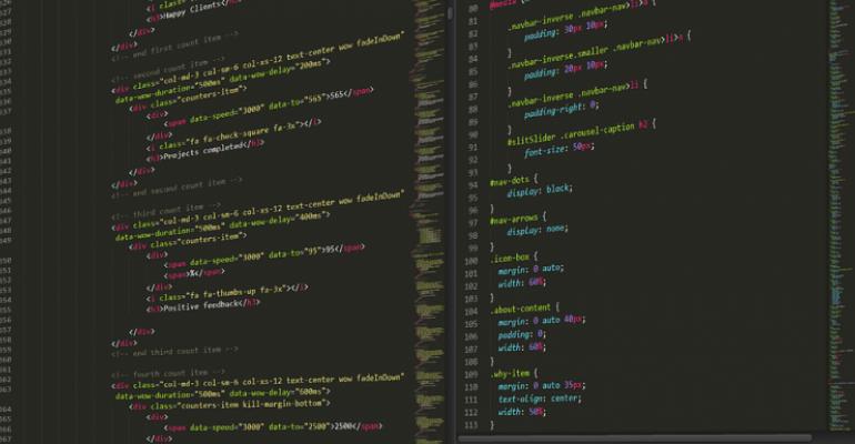 Simple Dockerfile to create a custom website