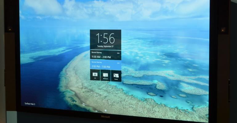 Microsoft Unveils a Surface Hub Try-and-Buy Program