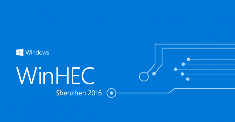 WinHEC 2016: Highlights from the Annual Microsoft Hardware Engineering Community Conference