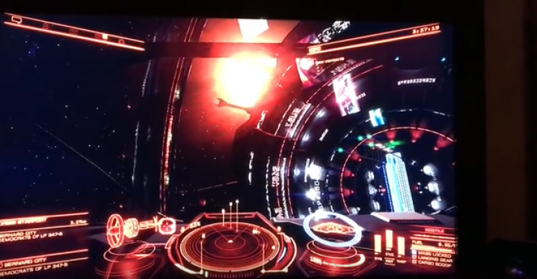 "Hacking Alexa: Piloting the ""Elite: Dangerous"" Spaceship"