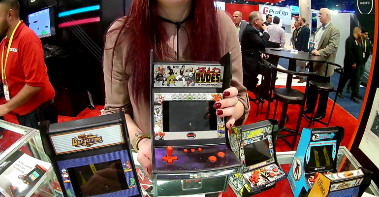 CES 2017: Retro Gaming Market Grows with new Mini Arcades from My Arcade