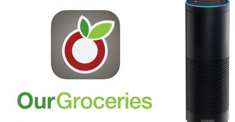 Alexa Skill of the Week: Our Groceries