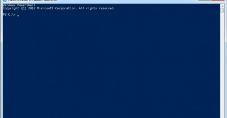 Check for a switch with PowerShell script