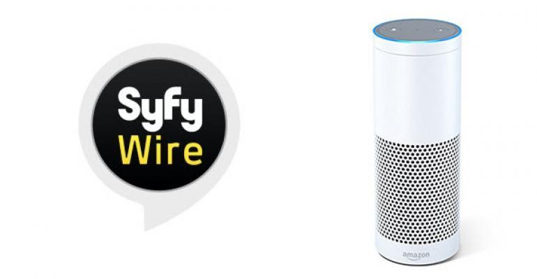 Syfy Wire Comes to Amazon's Alexa