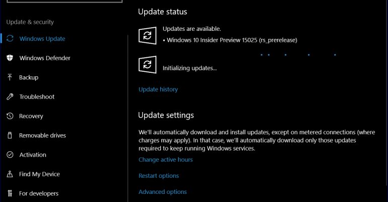 Windows 10 Creators Update Build 15025 ISOs Now Available; Bug Bash Begins