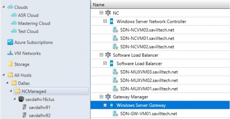 Deploy SDNv2 with SCVMM 2016