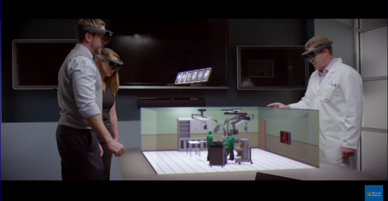 Microsoft Partners with Medical Technology Company Stryker to use HoloLens for Operating Room Design