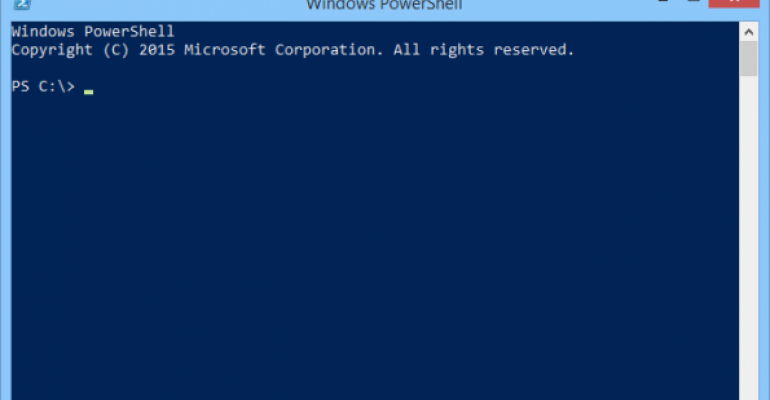 Check who you are logged in as for PowerShell