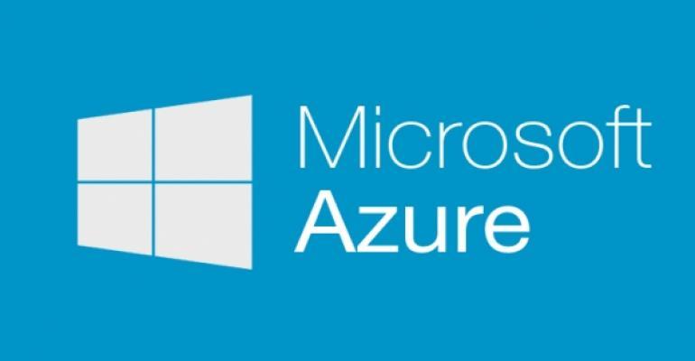 Control services shown on Azure portal menu