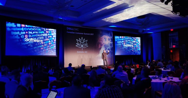 Dell EMC Canadian Customer Summit featured many speakers and demos
