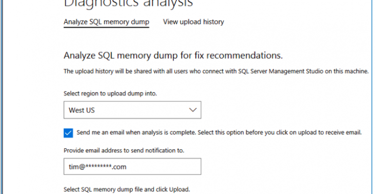 SQL Server Diagnostics Extension for SQL Server Management Server