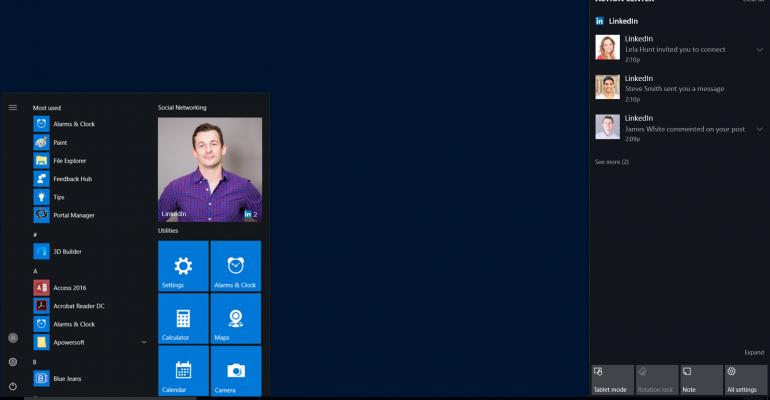 Offiical LinkedIn App for Windows 10 Released