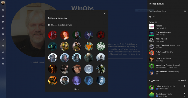 July Xbox One Console Update Delivers Custom Gamerpics and Other New Features to All Users