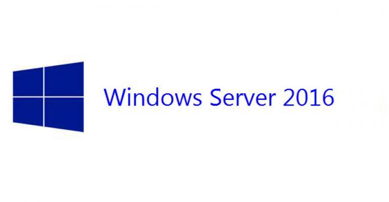 Image of Windows Server 2016 logo