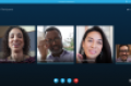 Skype for Business Screen