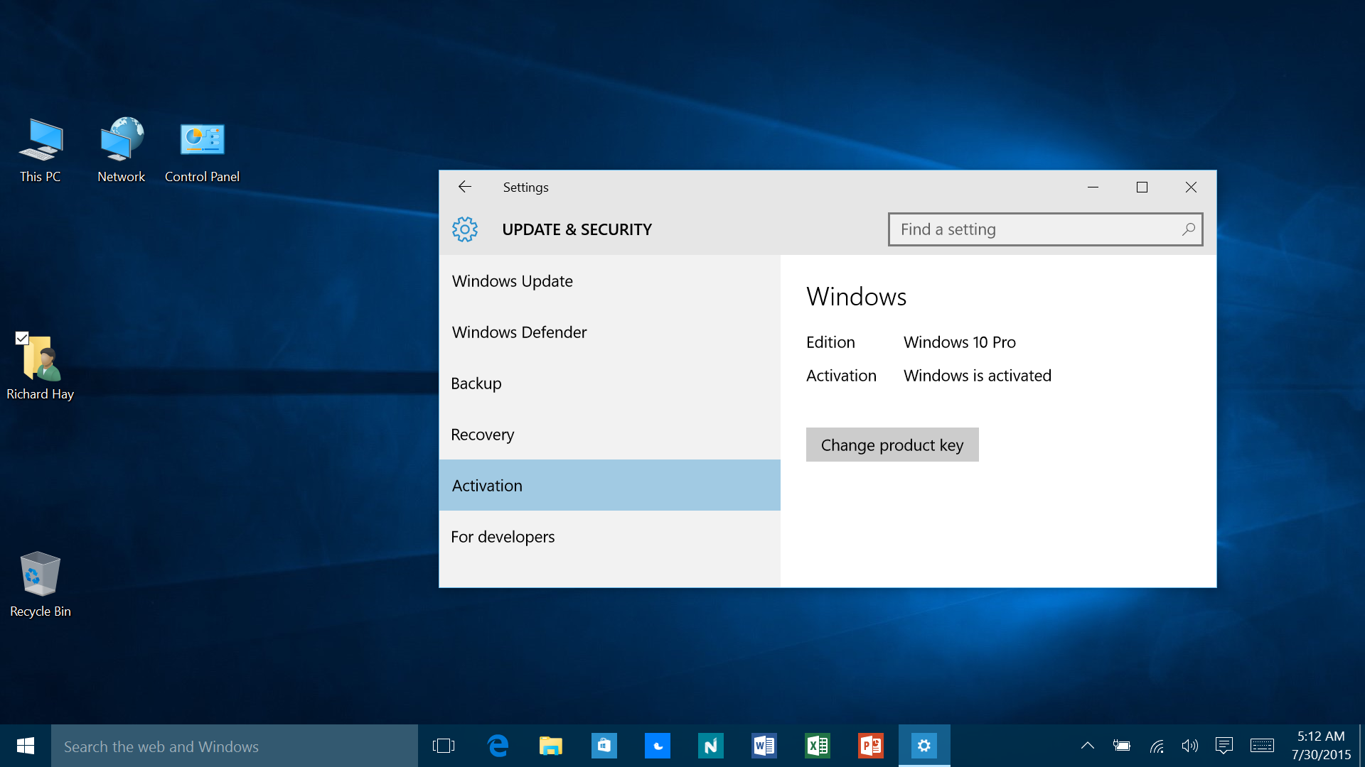 How to make sure your free copy of windows 10 is activated it pro ccuart Images