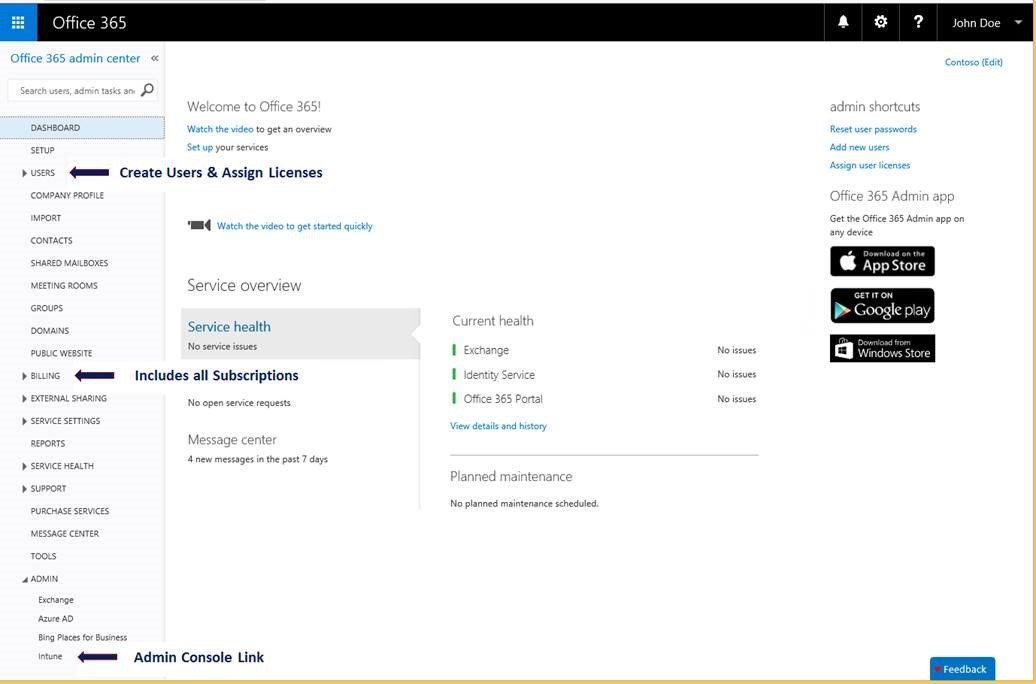 Microsoft to retire the intune portal merge it into office 365 it pro - Formation administration office 365 ...
