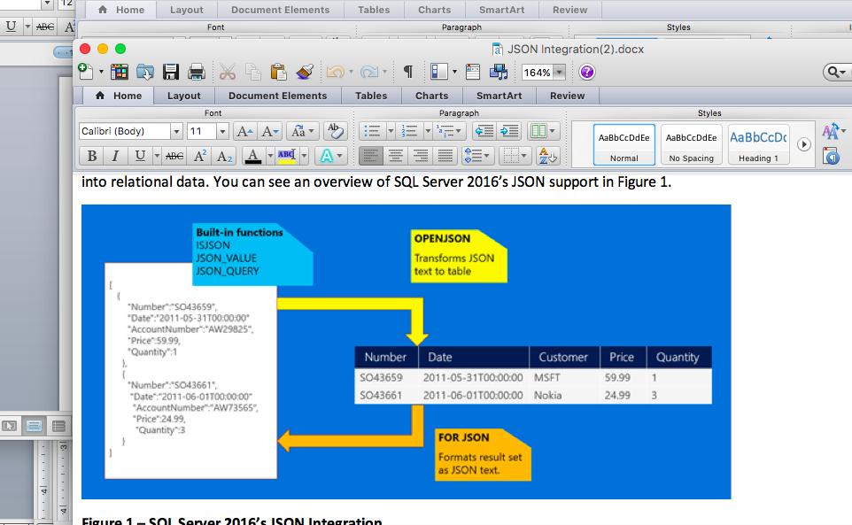 sql server 2016 s json integration it pro