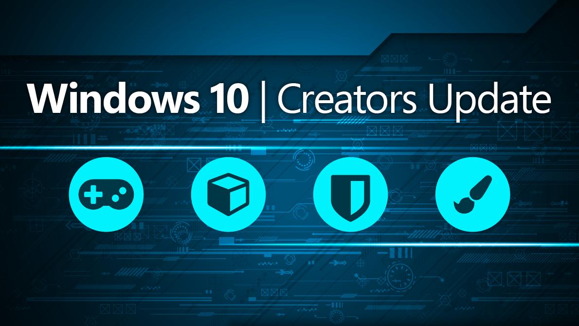 creators update windows 10