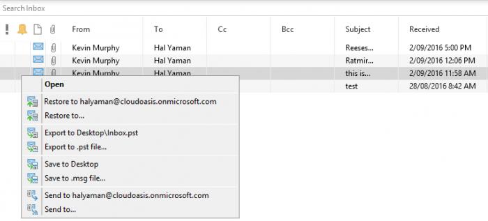 Veeam Backup for Microsoft Office 365: Availability vs